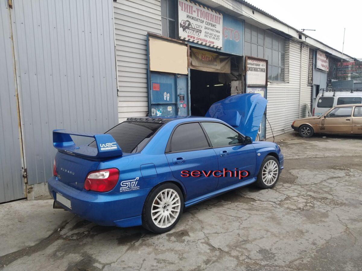 Subaru Impreza WRX 2.5 turbo 2004 год