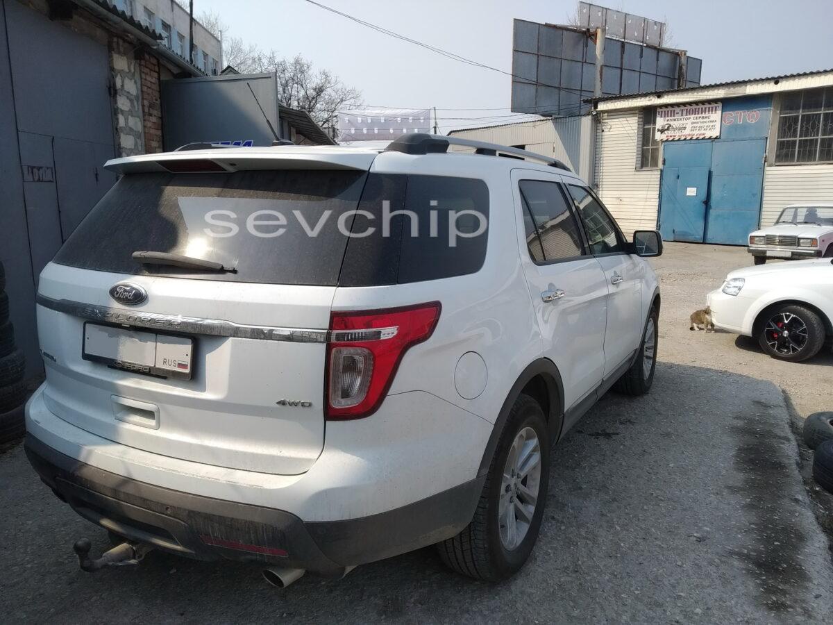 Ford Explorer 3.5 V6 2013 года